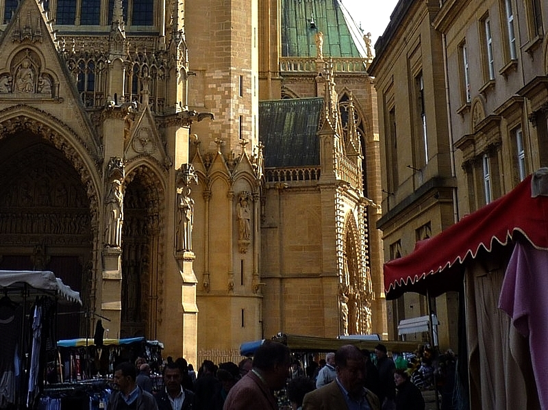 Metz / Le Marché Couvert...