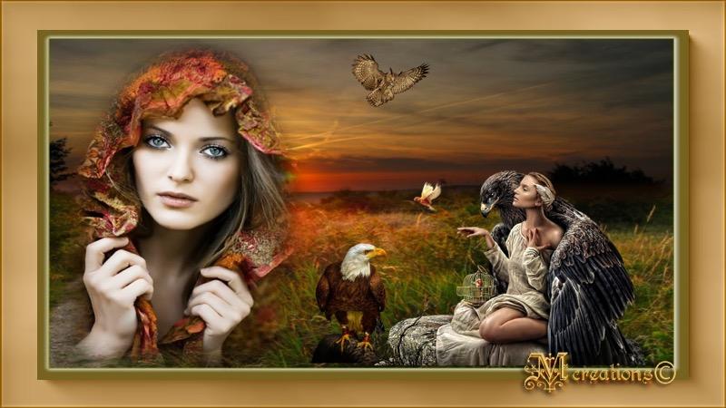 Géraldine et les faucons