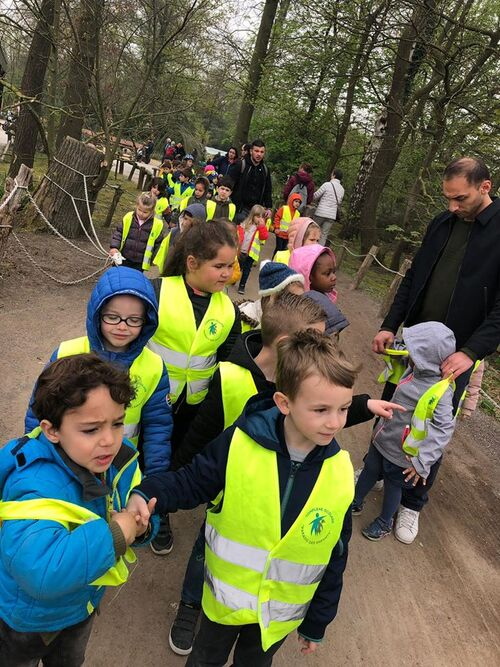 La section maternelle à Planckendael