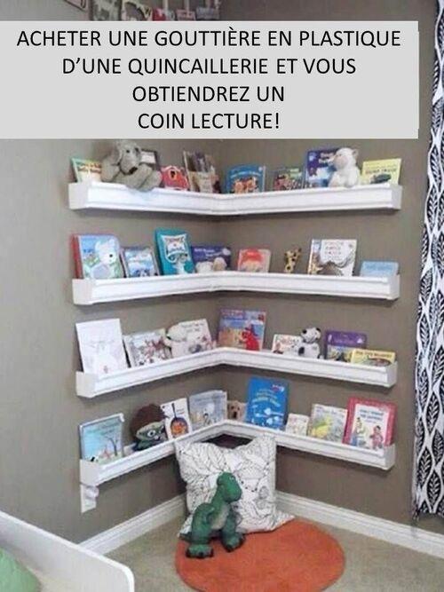 Une bibliothèque qui met en valeur les livres