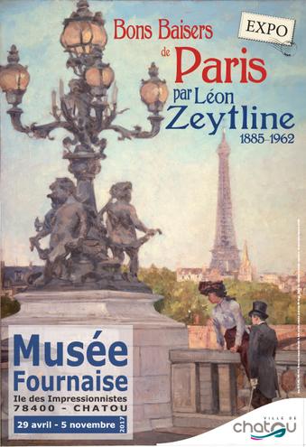 * À VOUS DE VOIR * Les « Bons Baisers de Paris » de Léon ZEYTLINE