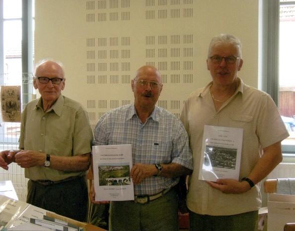Un second cahier sur Veuxhaulles sur Aube a été présenté par kles Amis du Châtillonnais...