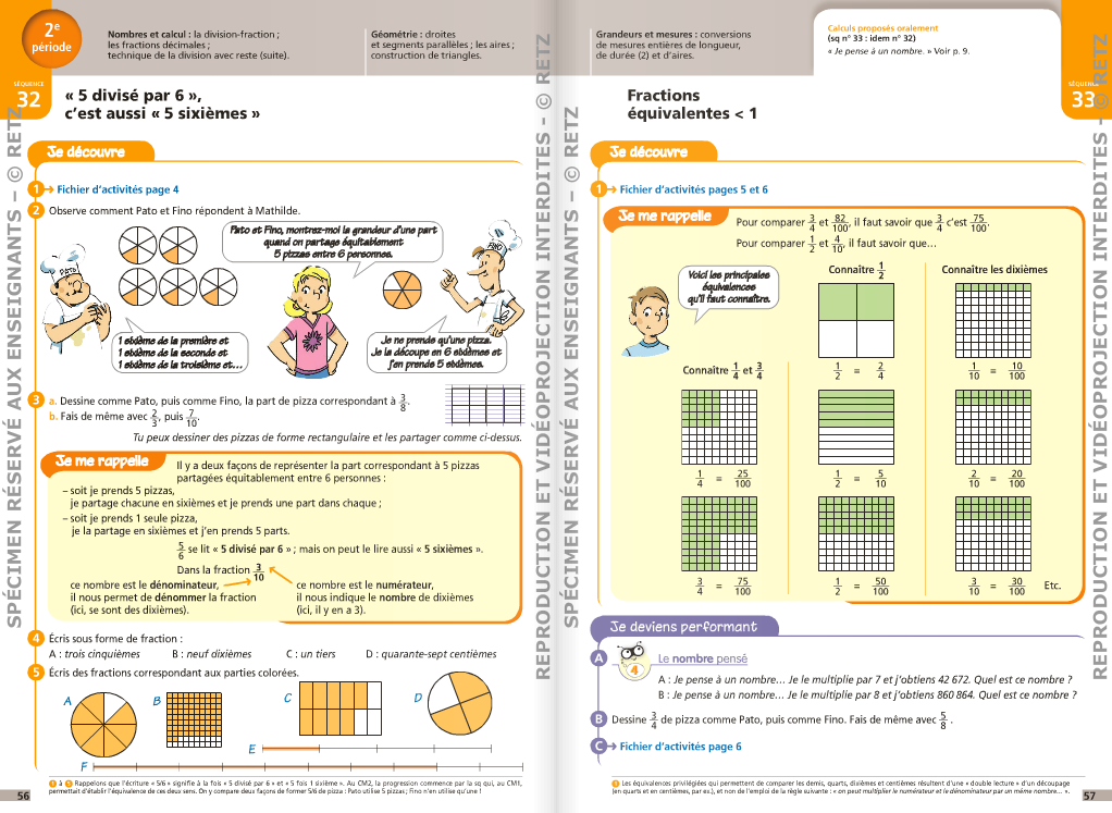 Corrections j 39 apprends les maths cm1 et cm2 cartable for A portee de mots cm2