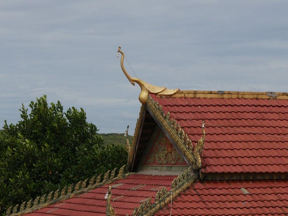 Visite d'un Temple - Cambodge