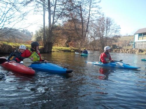 Sortie Kayak sous le soleil - Pont d'Ouilly (14) - Samedi 18 Février