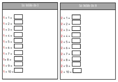 Calcul mental avec les règlettes Cuisenaires et le matériel Montessori