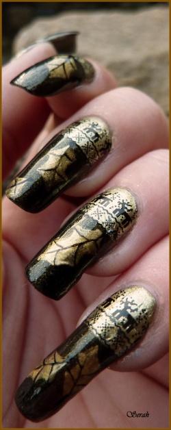 Nail art de Noël #2