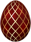 Easter Egg Red Gold Transparent Image