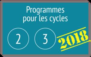 Programmes 2015 et 2018
