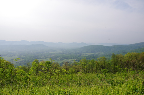 Jour 2 - Blue Ridge Parkway, Virginie
