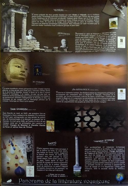 """""""Panorama de la littérature voyageuse"""", une exposition à la Bibliothèque Municipale"""