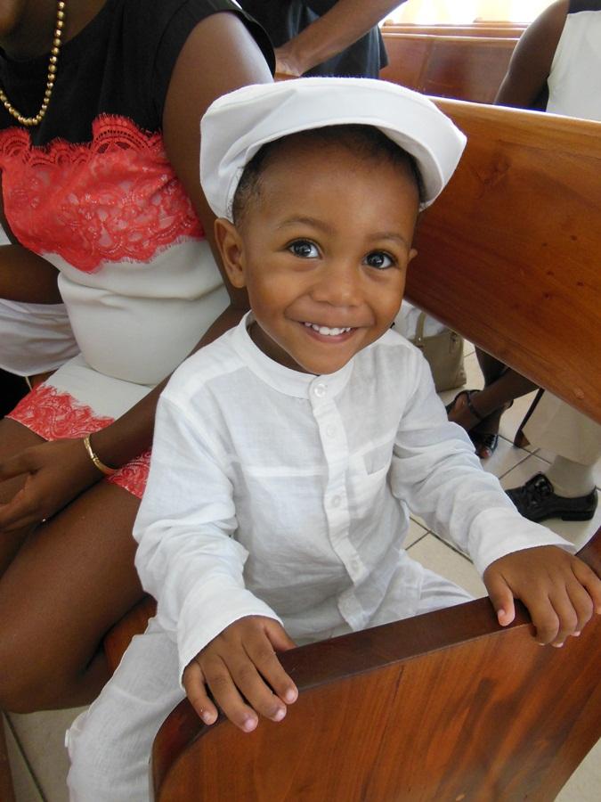 Baptême de mon petit fils Lucas
