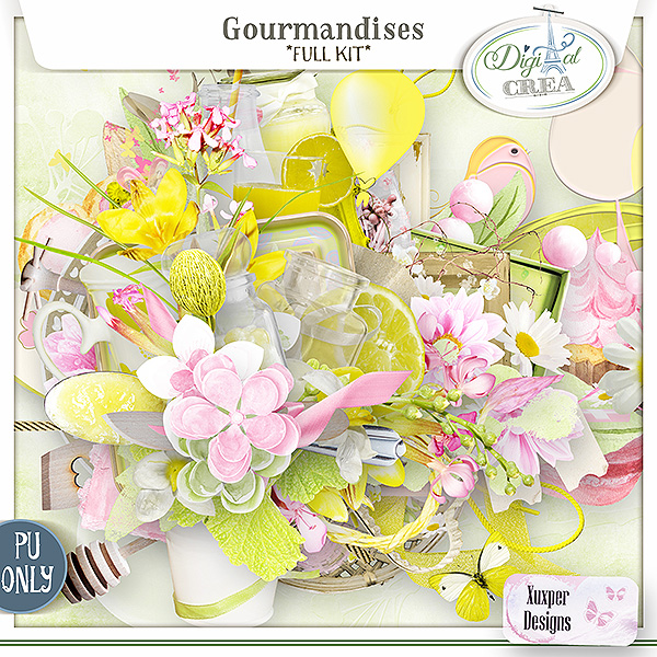 Gourmandises Kit de Xuxper Designs