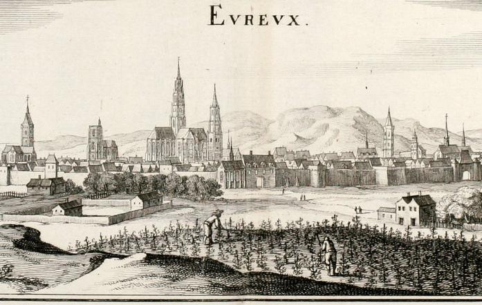LES REMPARTS D'EVREUX (Eure)