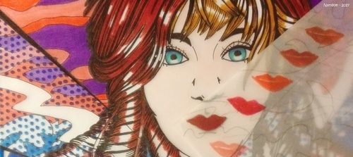 Comic-girl - Caromics
