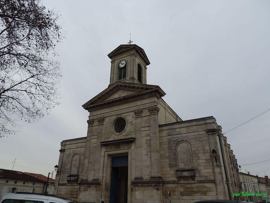 l'église Saint Vivien à Saintes (17