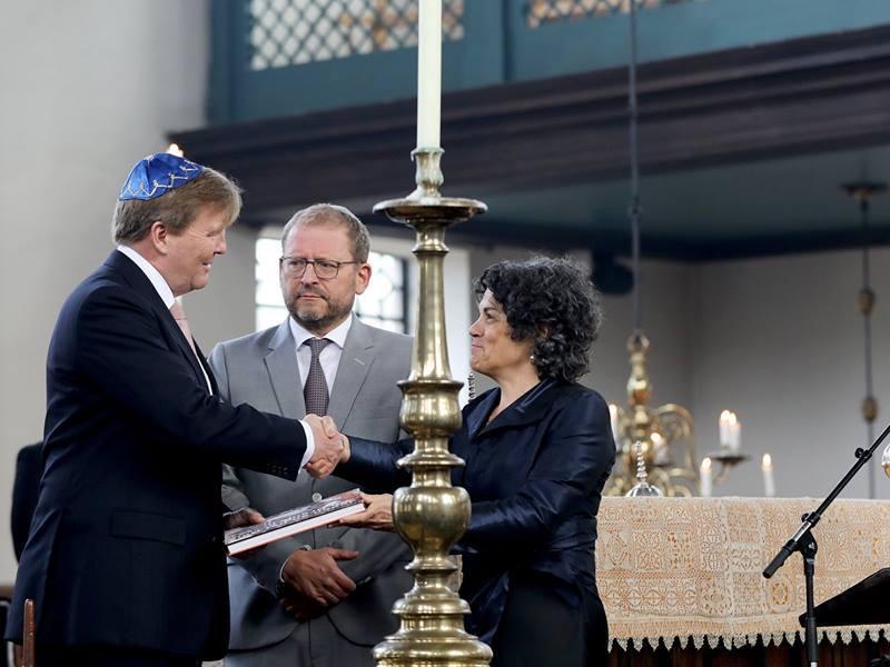 """"""" Les Juifs et la maison d'orange 400 années mouvementée """""""