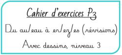Cahier d'exercices Piano de la P3 version 2019-2020