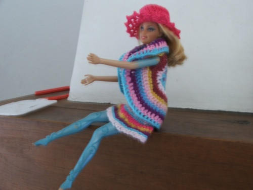 Barbie ensemble multicolore
