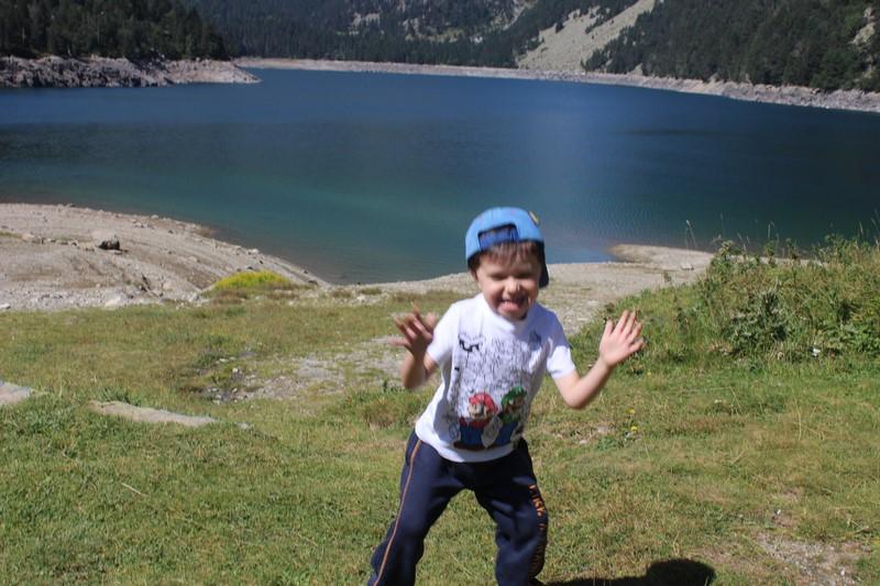 Le lac d'Orédon