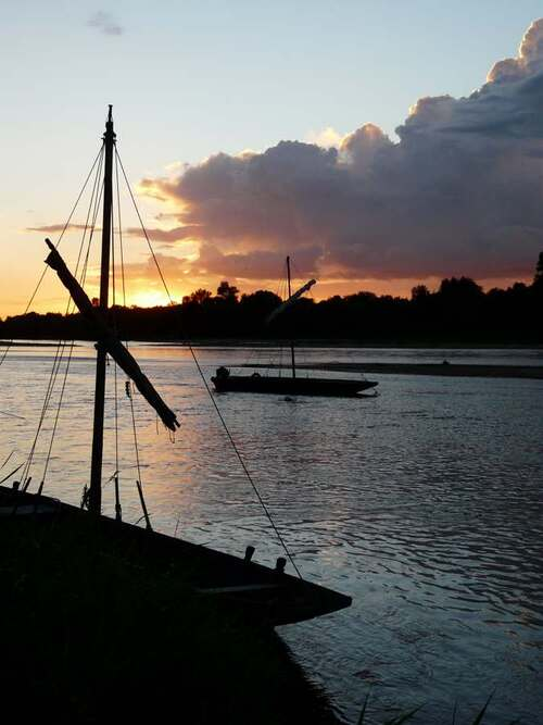 La Loire au crépuscule