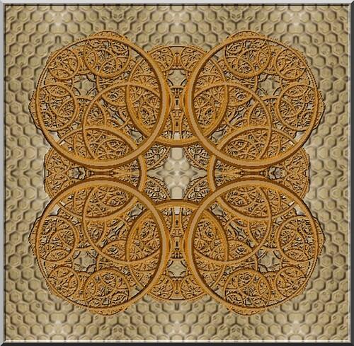 Création N 806 fractale par joel georges