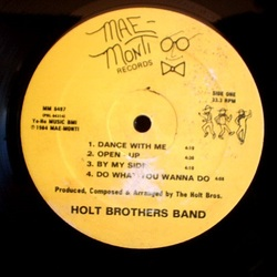 The Holt Brothers Band - Same - Complete LP