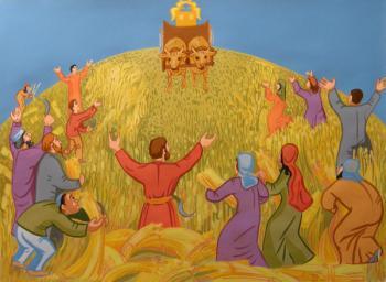 Le retour de l'Arche. Le sacre de Saül