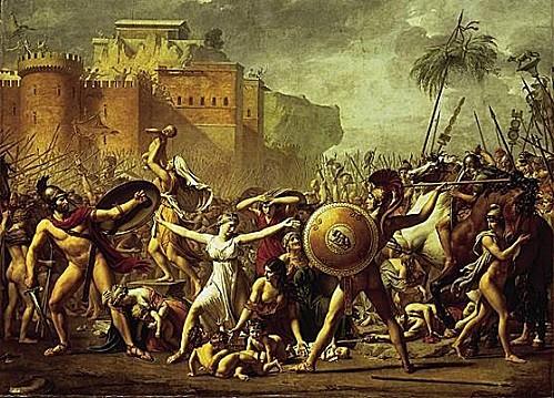 1002158-Louis David les Sabines arrêtant le combat entre l