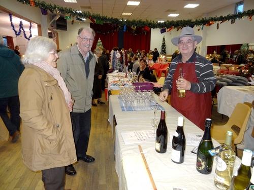 Le marché de Noël 2013 à Sainte Colombe sur seine