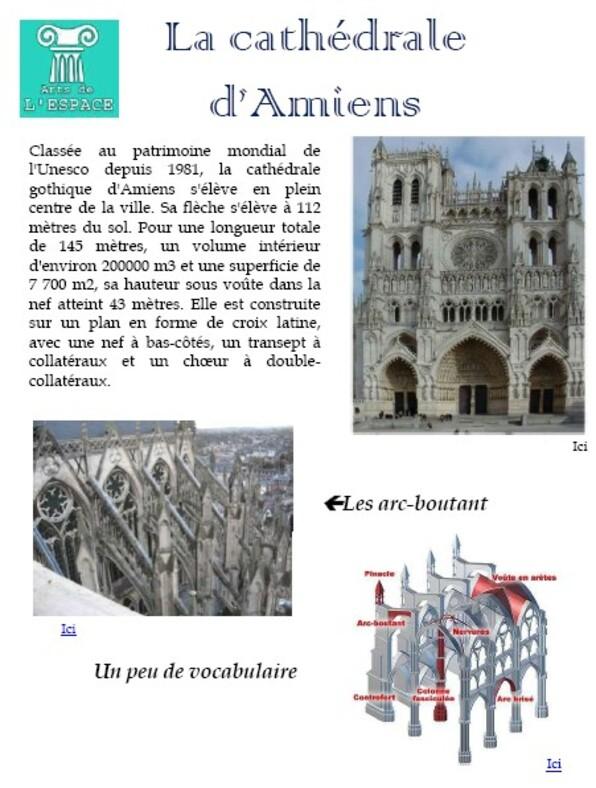 Art de l'espace - La Cathédrale d'Amiens