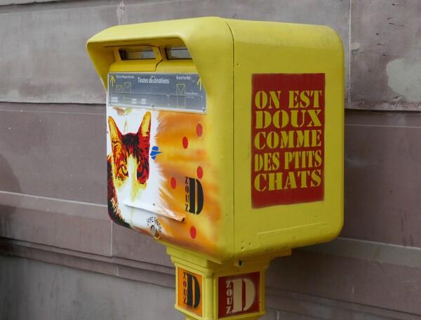 Boites aux lettres à Strasbourg