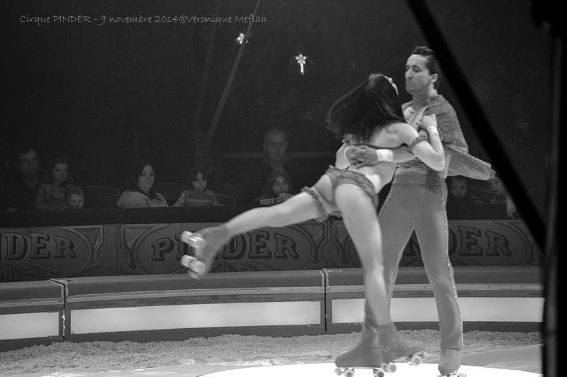 """Cirque Pinder dans Pinder fête ses 160 ans ! """"Les Skating Jaster"""""""
