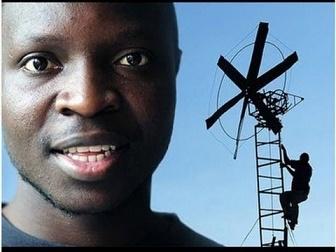 Une éolienne en Afrique ...