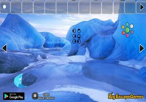 Jouer à Big Escape from glacier iceland water