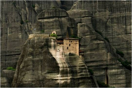 3Monastère d' Agios Nikolaos en Grèce dans la vallée