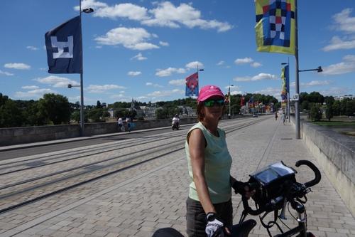 tour des châteaux de la Loire à vélo