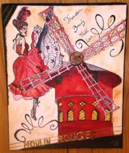 LE MOULIN ROUGE d'ANTAN