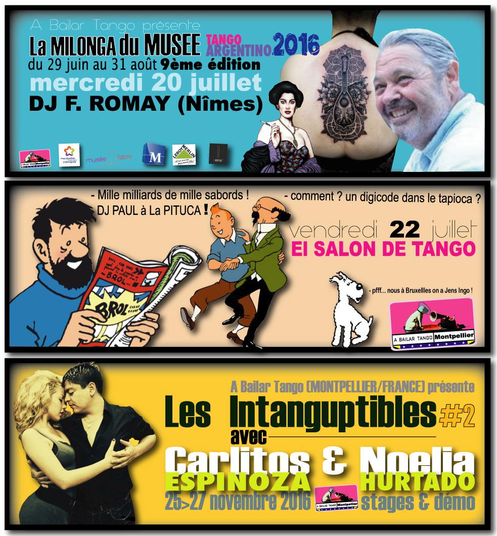 PROCHAINES PITUCA cet été au Salon de Tango : vendredi 22 juillet, vendredi 5 août, samedi 20 août.
