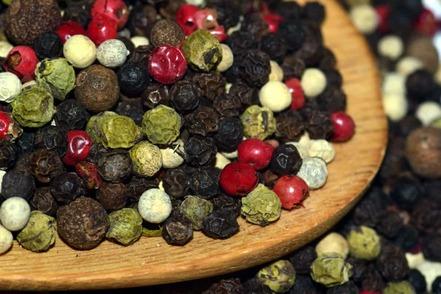 herbe, épices, graines, poivre, nourriture, sec, coloré