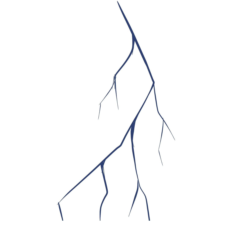 comment dessiner un eclair
