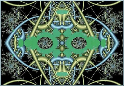 Fractale N 1024  Générateur de fractales ChaosPro