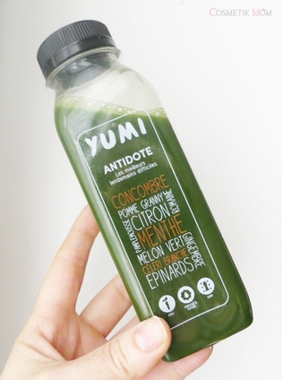 Green Bombs By Yumi Drinks, mon test