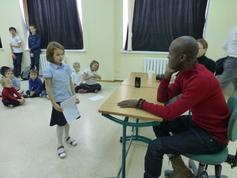 La Section française rencontre l'artiste Lamyne.