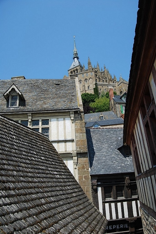 Village du Mont St Michel