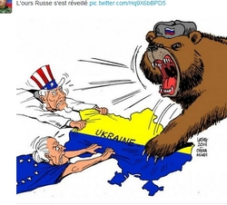 L'ours russe se dresse face aux Etats-Unis et à l'OTAN