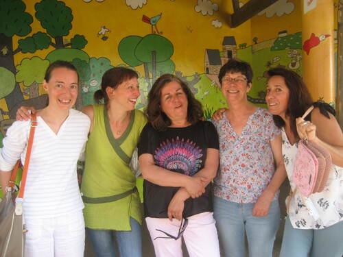 Pot de départ d'Astrid, Marie-Hélène, Aurélie, Sylvie et Aurélie