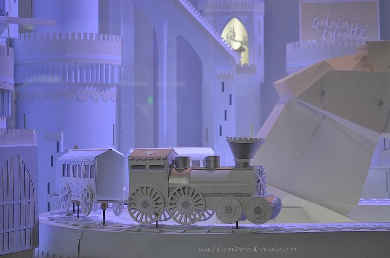 Vitrines de Noël 2016 aux Galeries Lafayette