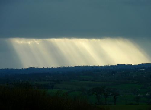 Etat du ciel (rideaux)...