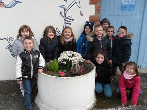 Petits jardiniers de GS